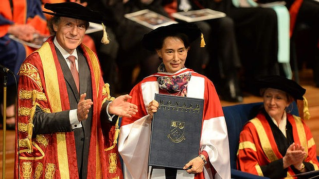 Aung San Suu Kyi speech at Monash University