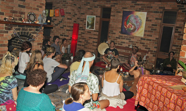 Cacao Ceremony Melbourne with Shamanic Medicine Drum run by Adam Oldmeadow and Mandi Chimutengwende