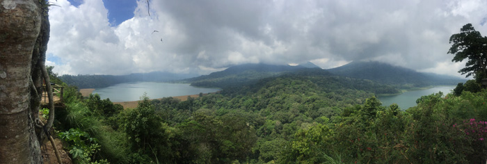 View of Lake Bedugul