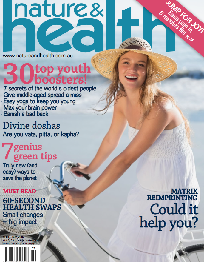 Nature and Health Magazine - Adam Oldmeadow