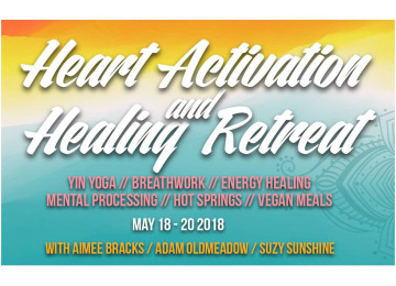 Heart Activation and Healing Retreat   Yin Yoga  Breathwork  Energy Healing image