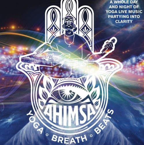 Ahimsa Music & Yoga Festival - Main Flyer