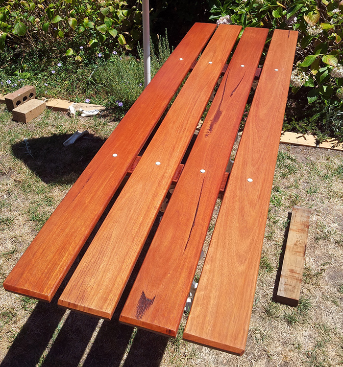 Spotted Gum Table